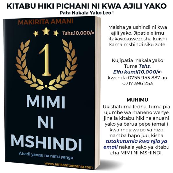 MIMI NI MSHINDI