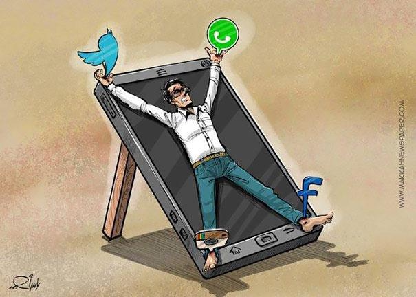 socia-media-slave